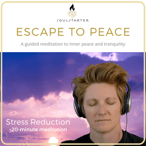 Escape to Peace - A Guided Meditation to Reduce Stress and Anxiety MP3 Download