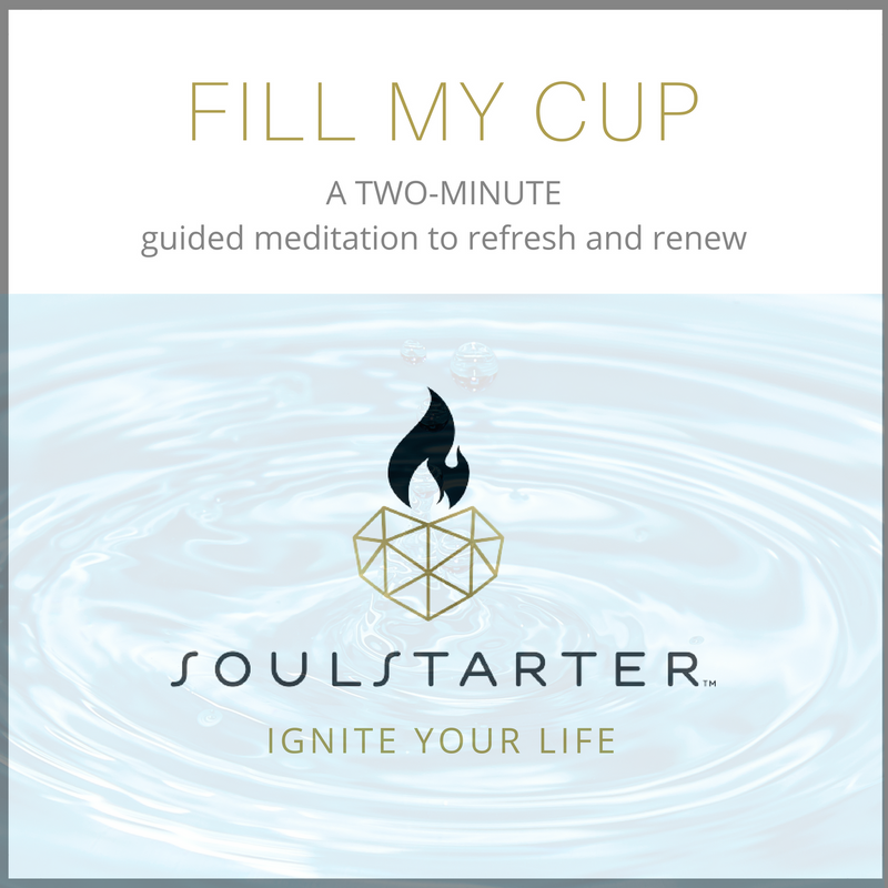 Fill My Cup - A FREE Two-Minute Guided Meditation to Ground and Refresh MP3 Download