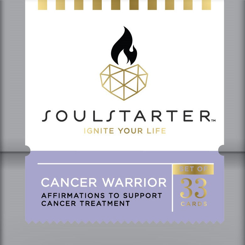 Cancer Warrior - Affirmation Cards to Support Cancer Patients Box Set