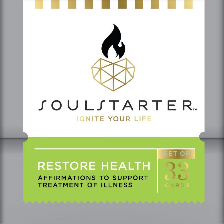 Restore Health - Affirmation Cards For Healing and Good Health Box Set