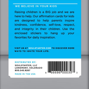 Superstar Kids - We Believe in Your Kids! Affirmation Cards for Kids