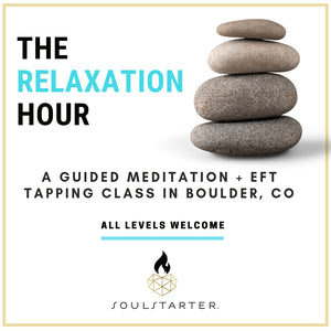 Drop-In The Relaxation Hour Feb. 19, 2019 - Guided Meditation and EFT in Boulder, CO