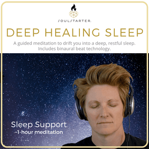 Deep Healing Sleep - A Guided Meditation to Help You Sleep MP3 Download with Binaural Beats