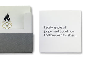 Restore Health Affirmation Card - I easily ignore all judgement