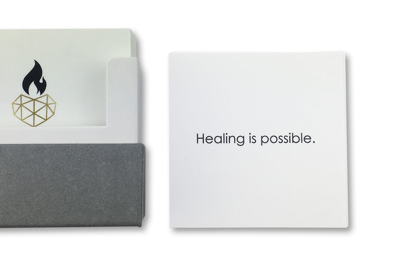 Restore Health Healing Affirmations Cards - Healing is Possible
