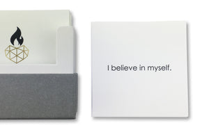 I Believe in Myself - Positive Affirmation Card for Children