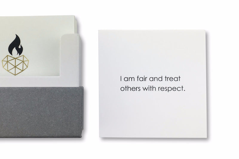 Positive Affirmations for Kids - I am fair and treat others with respect