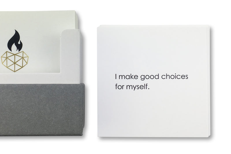 Daily Affirmation for Kids Example - I make good choices