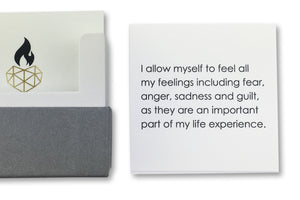 Self Love Affirmations - I allow myself to feel all my feelings