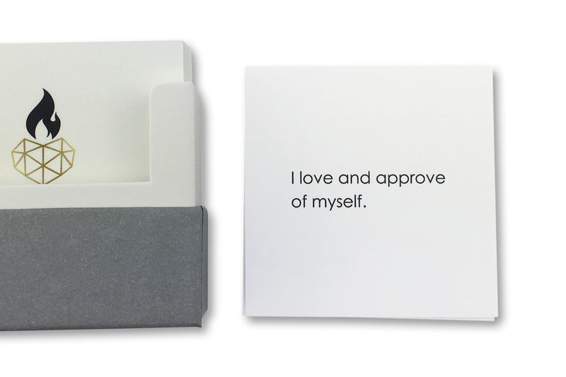 Affirmations for Well-Being - I love and approve of myself