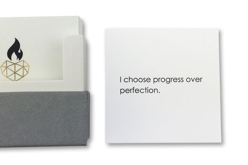 Positive Affirmations for Weight-Loss - I choose progress over protection