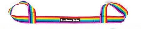 Moxi Skate Leash Rainbow