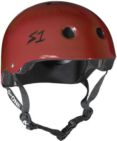 S1 Lifer Helmet - Scarlet Red Gloss