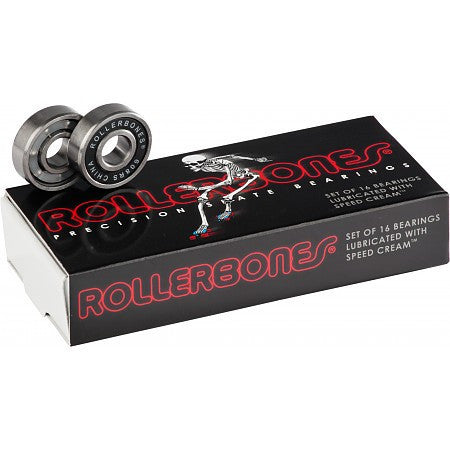 Rollerbones Bearings 8mm - 16 Pack