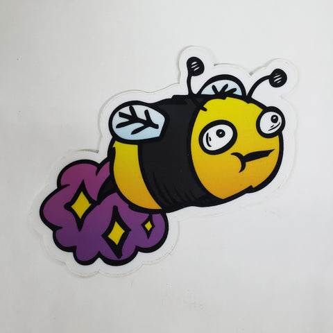 Farting Bee sticker