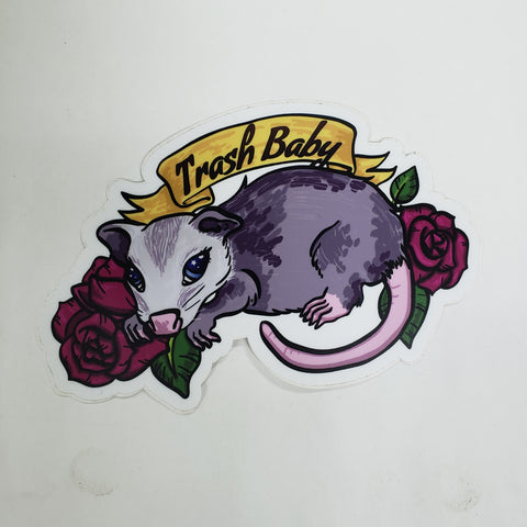 Trash Baby Sticker
