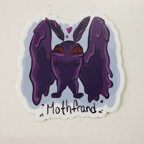 Mothfrand Sticker