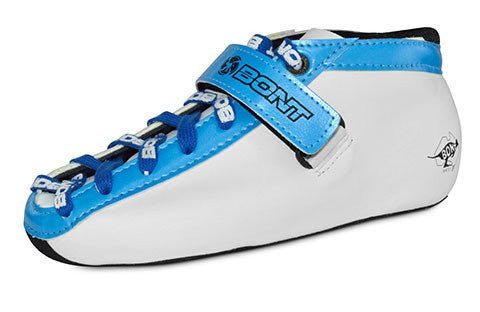 Bont Junior Boot White Flouro Blue