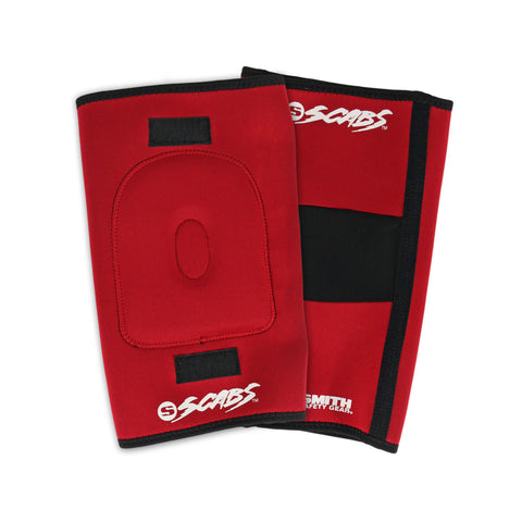 Smith Scabs Knee Gasket Red