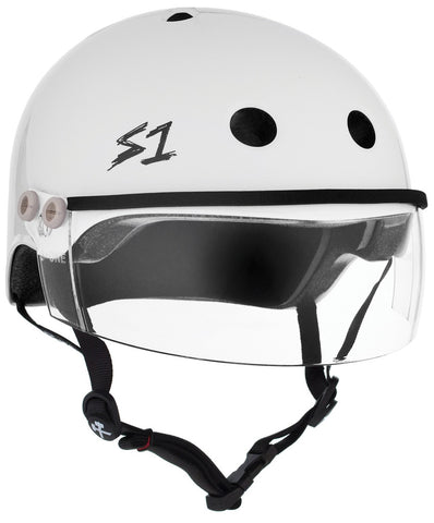 S1 Lifer Visor Gen 2 White Gloss