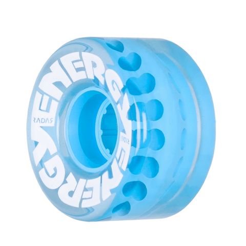 Radar Energy 57mm Clear Blue - 4 Pack