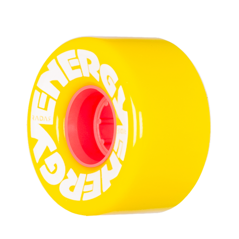 Radar Energy 57mm Yellow - 4 Pack
