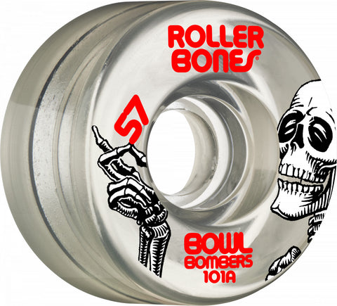 Bowl Bombers Wheels 57mm 101A 8pk Clear