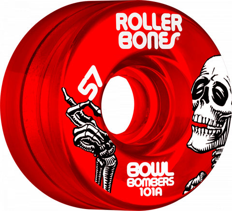 Bowl Bombers Wheels 57mm 101A 8pk Red