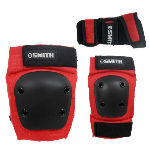 Smith Scabs - Youth 3 Pack - Red