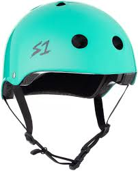 S1 Lifer Helmet - Lagoon Gloss