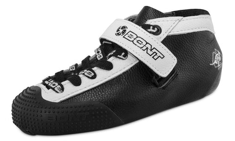 Bont Hybrid Carbon Leather - Black with White Trim