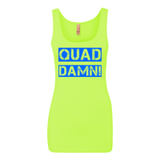 Quad Damn! Ladies Tanktop Yellow