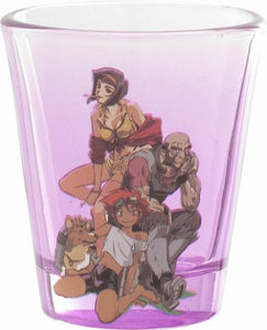 COWBOY BEBOP GROUP SHOT GLASS - Littles Toy Company