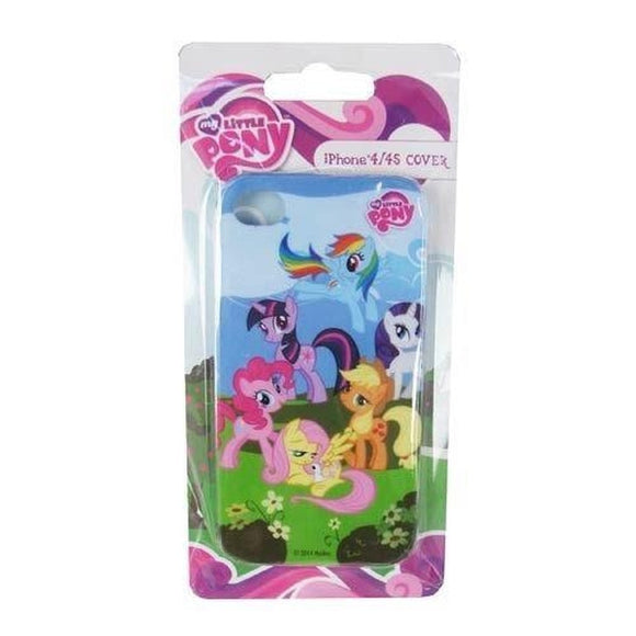 MY LITTLE PONY FRIENDSHIP IS MAGIC IPHONE 4 AND 4S PLASTIC SNAP-ON PHONE COVER - Littles Toy Company