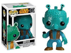 STAR WARS VAULT POP! GREEDO #7 VINYL FIGURE FUNKO - IN STOCK! - Littles Toy Company