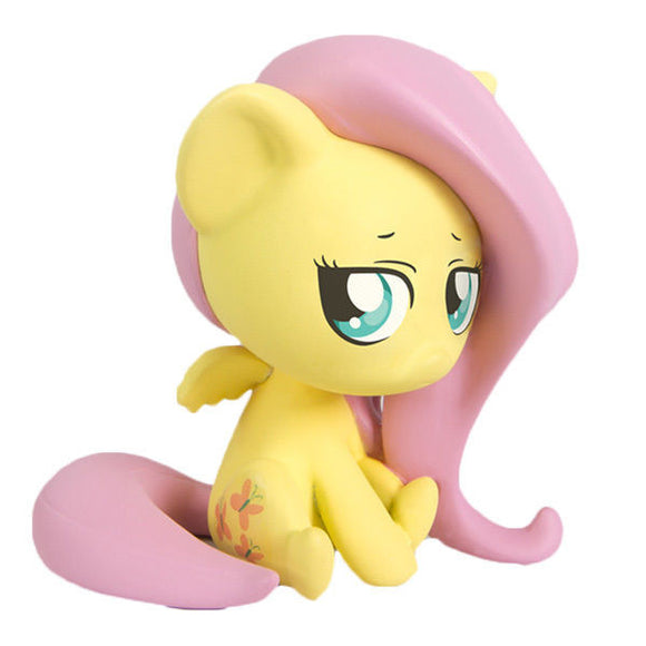 My Little Pony FIM Brony Chibi Vinyl Figure - Fluttershy - Littles Toy Company