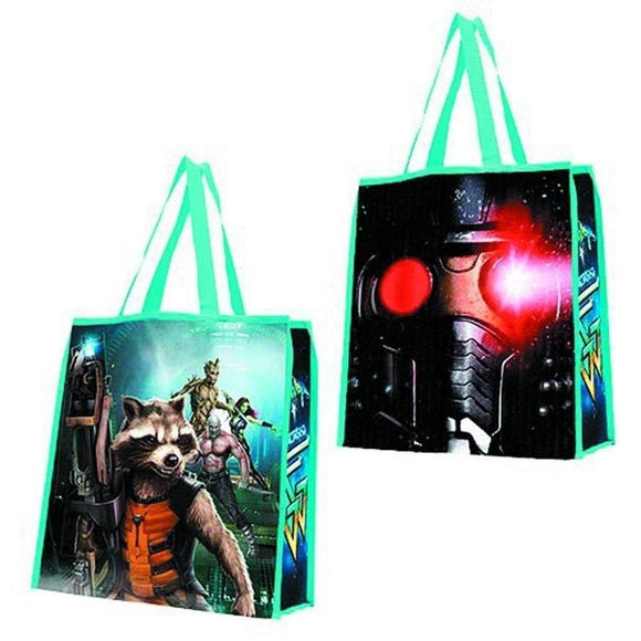 Guardians Of The Galaxy Group Tote Bag NEW Carrier Recyclable - Littles Toy Company