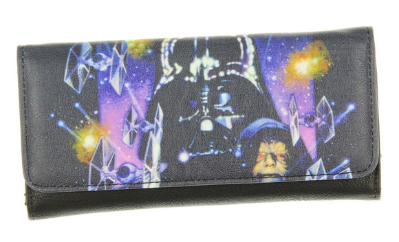 Loungefly Star Wars Space Scene Photo Real Wallet - Littles Toy Company