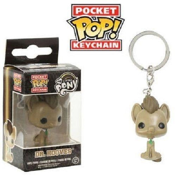 My Little Pony FUNKO Pocket Pop keychain figure Dr. Whooves NEW - Littles Toy Company