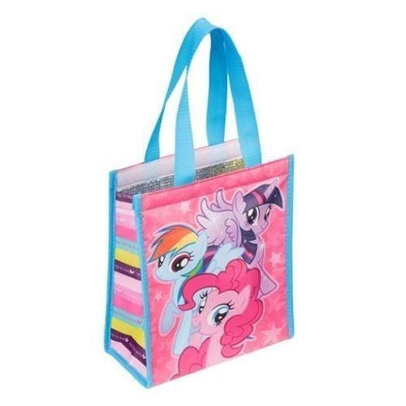 My Little Pony Characters Collage Small Insulated Shopper Tote Bag, NEW UNUSED - Littles Toy Company
