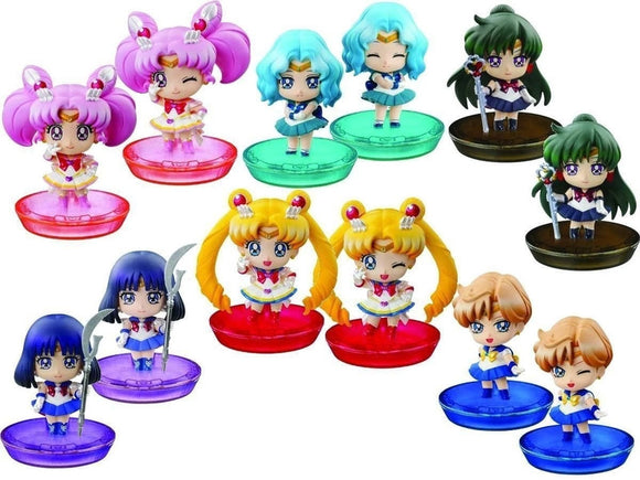 Sailor Moon Petit Chara New Soldiers Friends PVC Figure (Whole Box) #816345 - Littles Toy Company