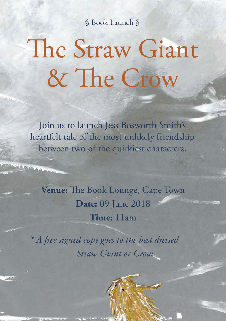 Kids book launch — The Straw Giant