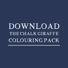 Download Chalk Giraffe Colouring Pack