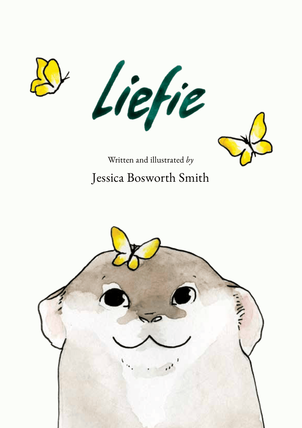 Liefie or Darling children's picture book by Jessica Bosworth Smith of a laat lammetjie