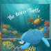 The Brave Turtle book by B. D. Harris and a soft toy of Neville
