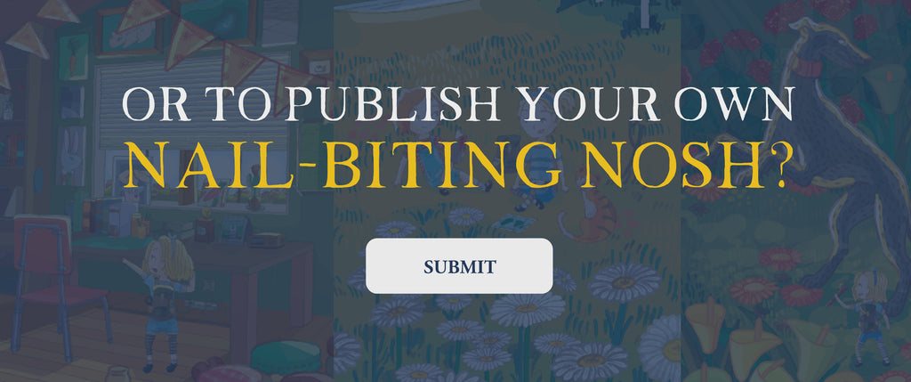 Self publishing your nail-biting nosh has never been easier with Imagnary House Publishers.
