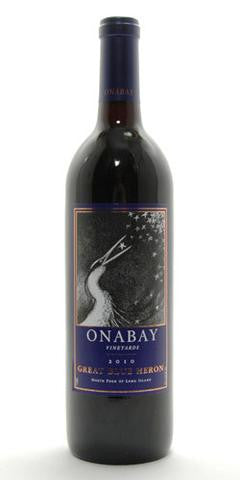 Onabay Vineyards Great Blue Heron 2012