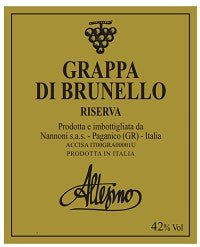NV Altesino Grappa di Brunello Riserva