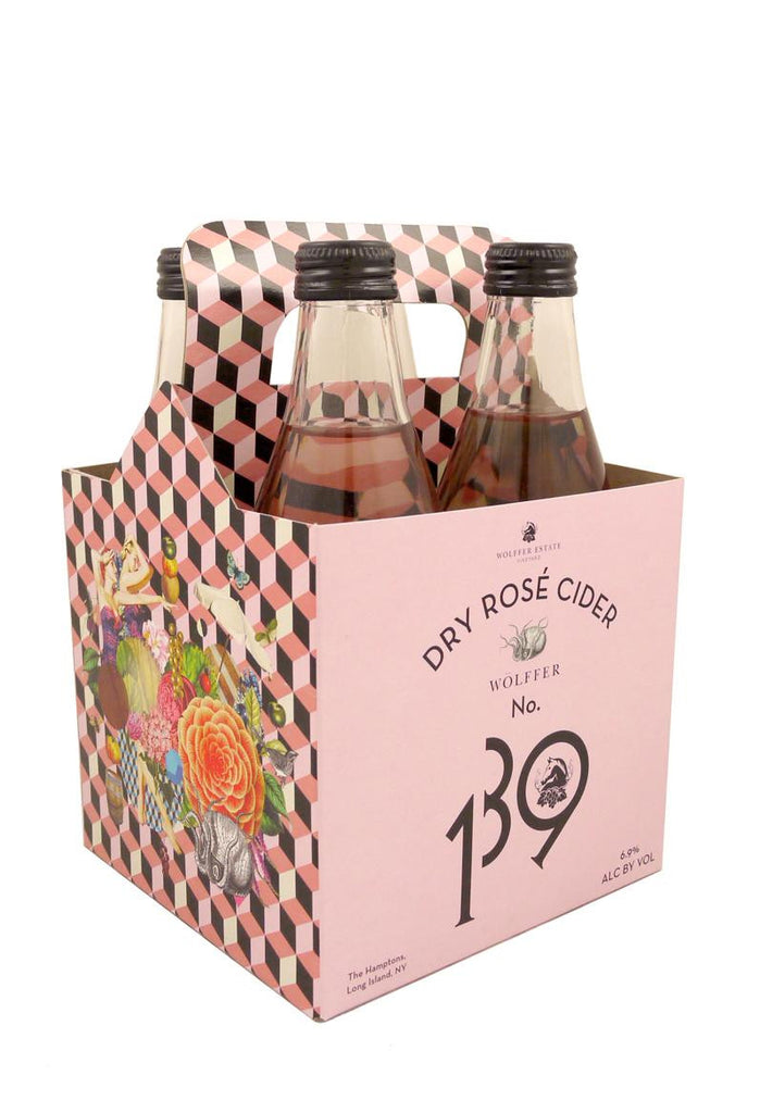 Wolffer Estate No. 139 Dry Rose Cider