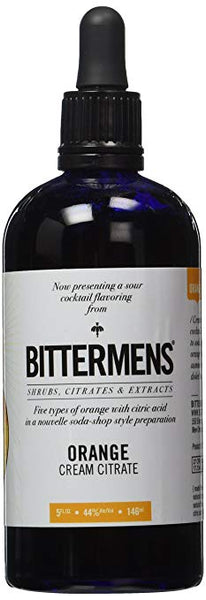 Bittermens Orange Cream Citrate Bitters